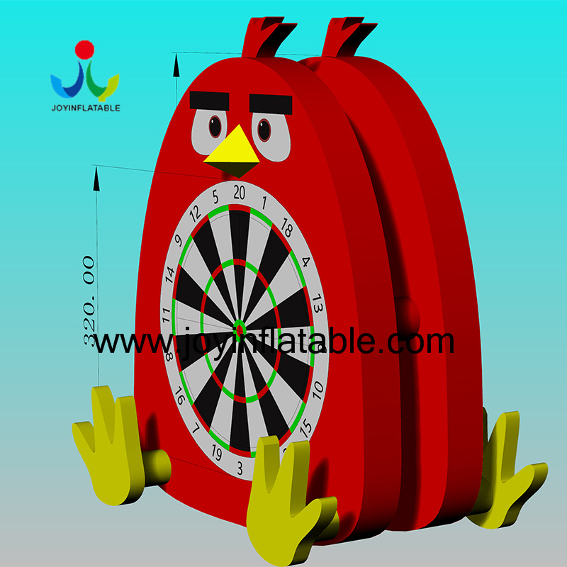 Inflatable Football Dart Board Game With Double Sides-12