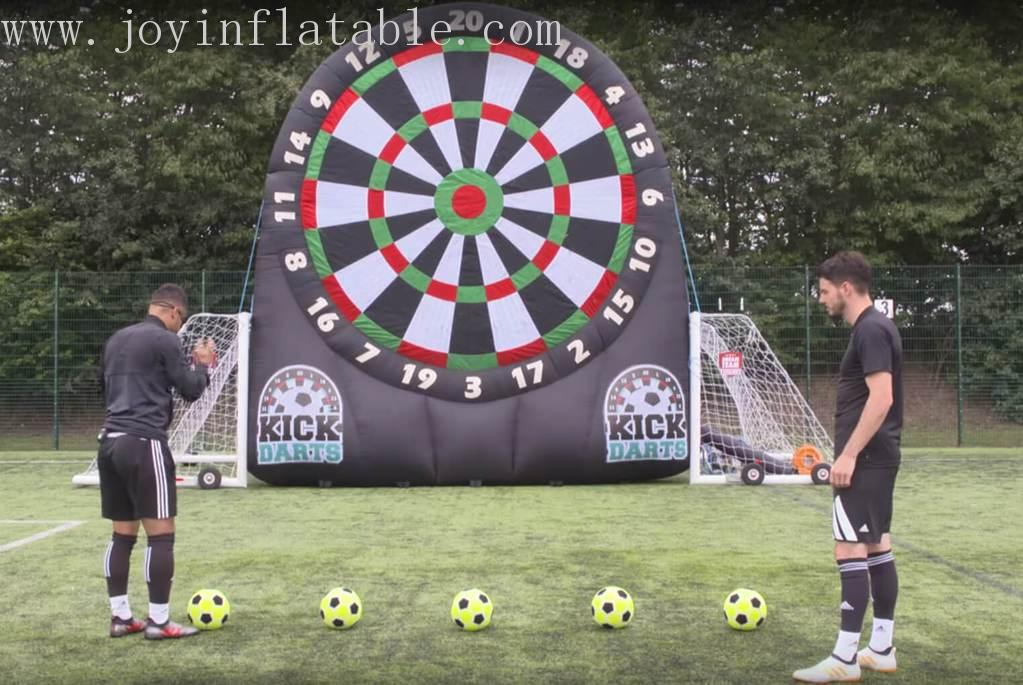 Inflatable Football Dart Board Game With Double Sides-13