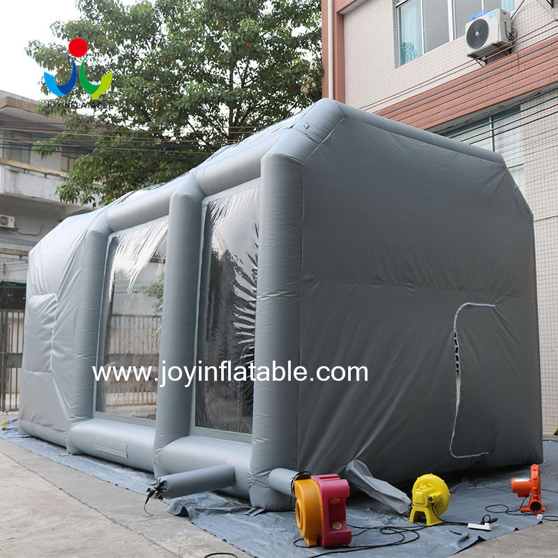 Movable Inflatable Tent Paint Spray Booth Car Mobile Workstation