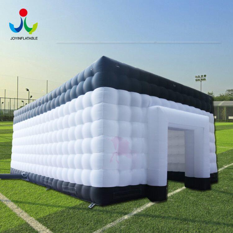 Oxford Fabric Sewed Inflatable Cube Waterproof White & Black color