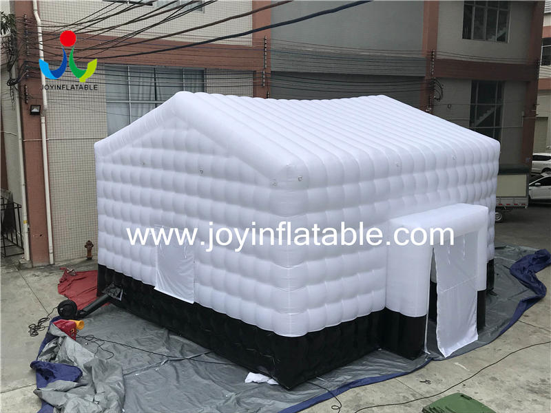 8x7x5m Customized inflatable cube Outdoor Tents with oxford  cloth