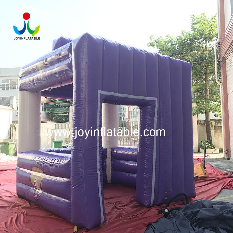 0.6mm PVC Inflatable Small Cube House For Exhibition