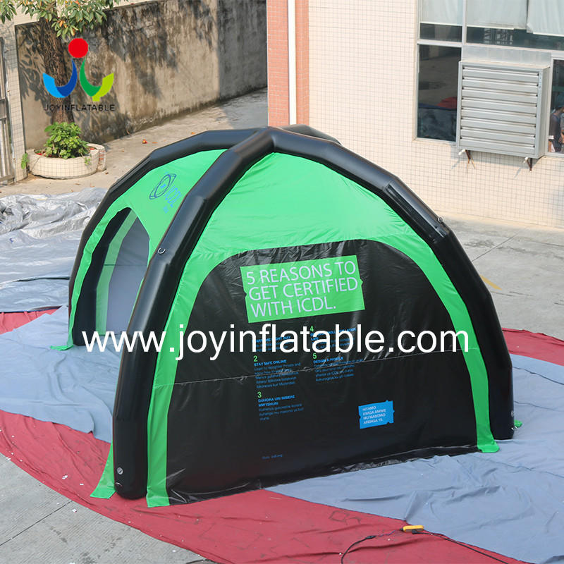 JOY inflatable inflatable canopy tent factory for children