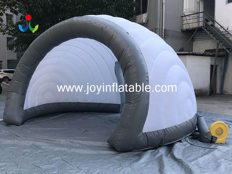 Geodesic Inflatable Igloo Tents For Display  Video