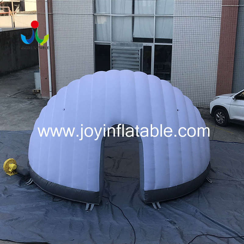 Geodesic Inflatable Igloo Tents For Display-4