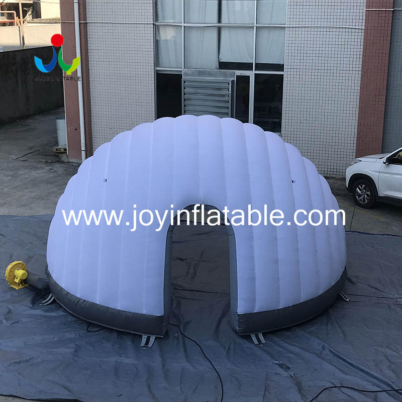 logo transparent blow up igloo globe JOY inflatable Brand