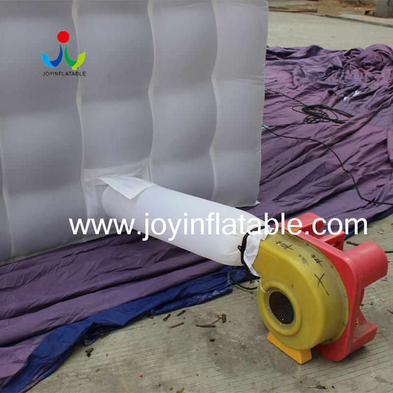 New White Oxford Fabric Inflatable Cube Tent with Ce Blower