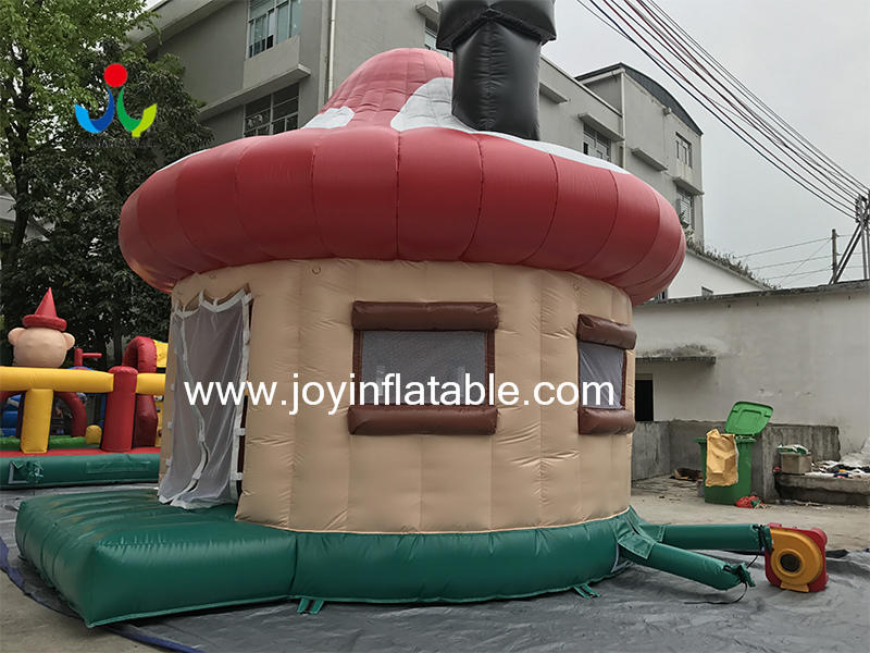 0.4mm PVC Tarpaulin Fireproof Big Inflatable Dome Mushroom Tent for Events Video