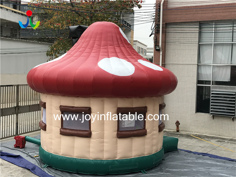 0.4mm PVC Tarpaulin Fireproof Big Inflatable Dome Mushroom Tent for Events-4