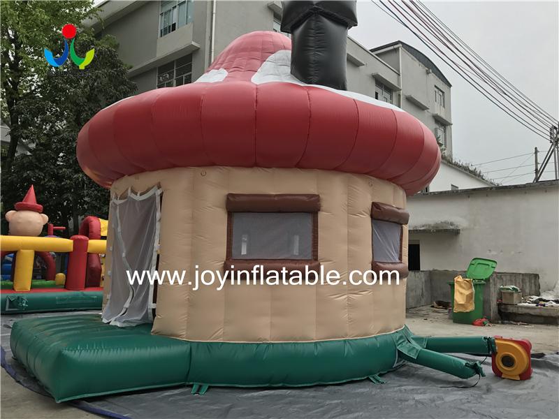 0.4mm PVC Tarpaulin Fireproof Big Inflatable Dome Mushroom Tent for Events-5