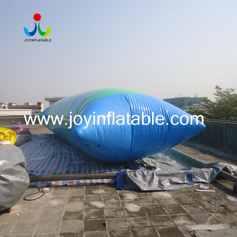 Water Toy floating Inflatable Jump Bed Water Blobbing Air Pillow Bag For Adult