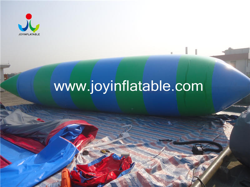 Water Toy floating Inflatable Jump Bed Water Blobbing Air Pillow Bag For Adult Video