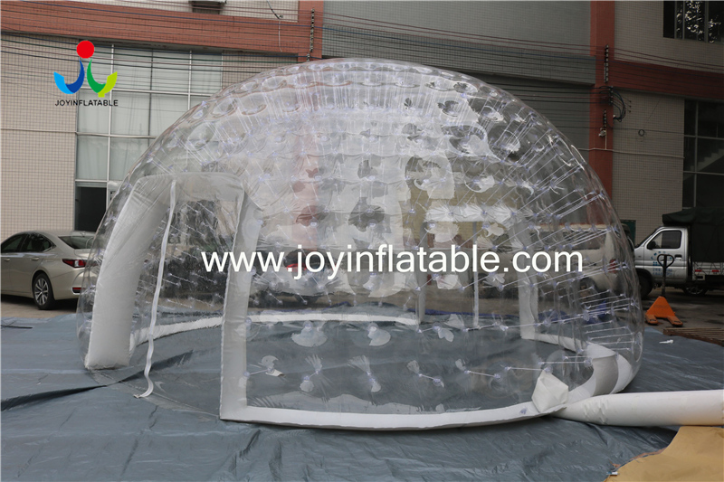 0.8mm Clear PVC Inflatable IglooTent For Outdoor Event-5