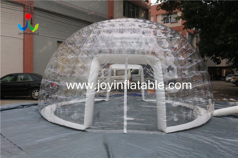 0.8mm Clear PVC Inflatable IglooTent For Outdoor Event-7