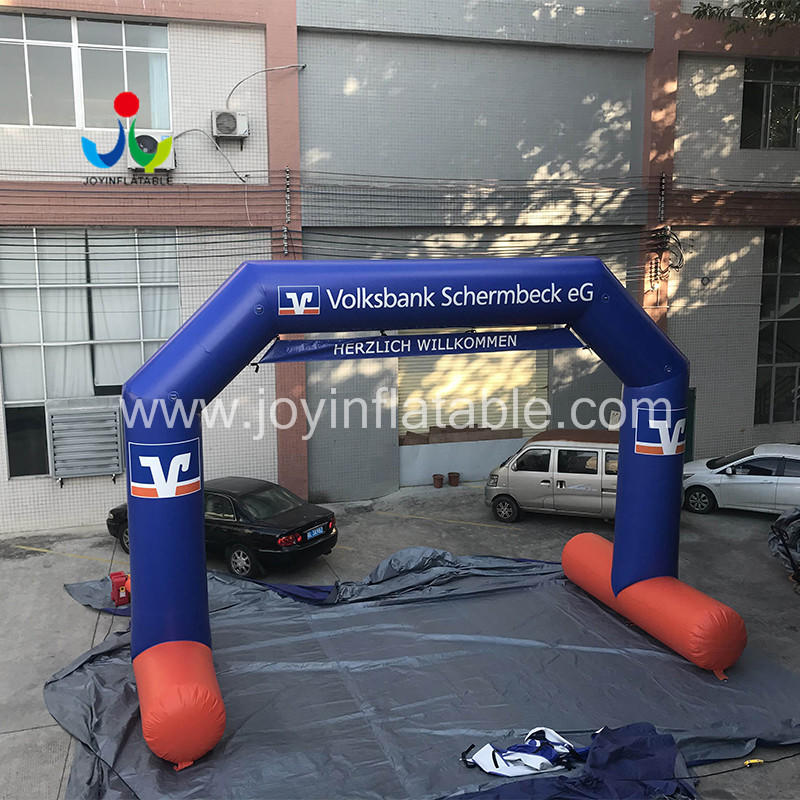 JOY inflatable race inflatable arch supplier for outdoor
