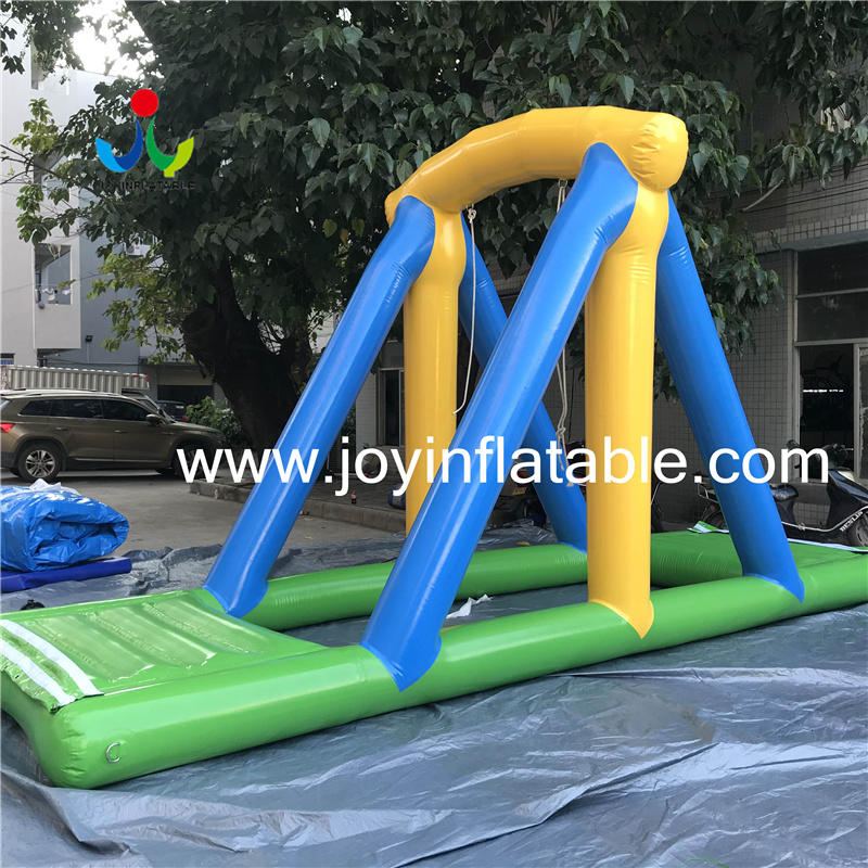 Inflatable sea Aqua Water Amusement Park with Obstacle Course For Lake Video