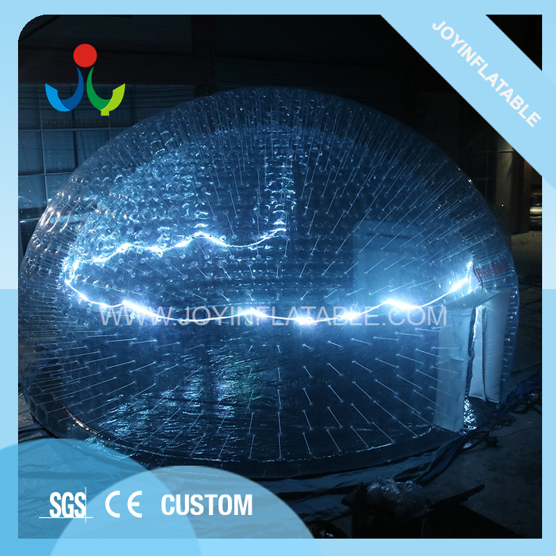 Clear PVC Inflatable LED Light Event Tent-10