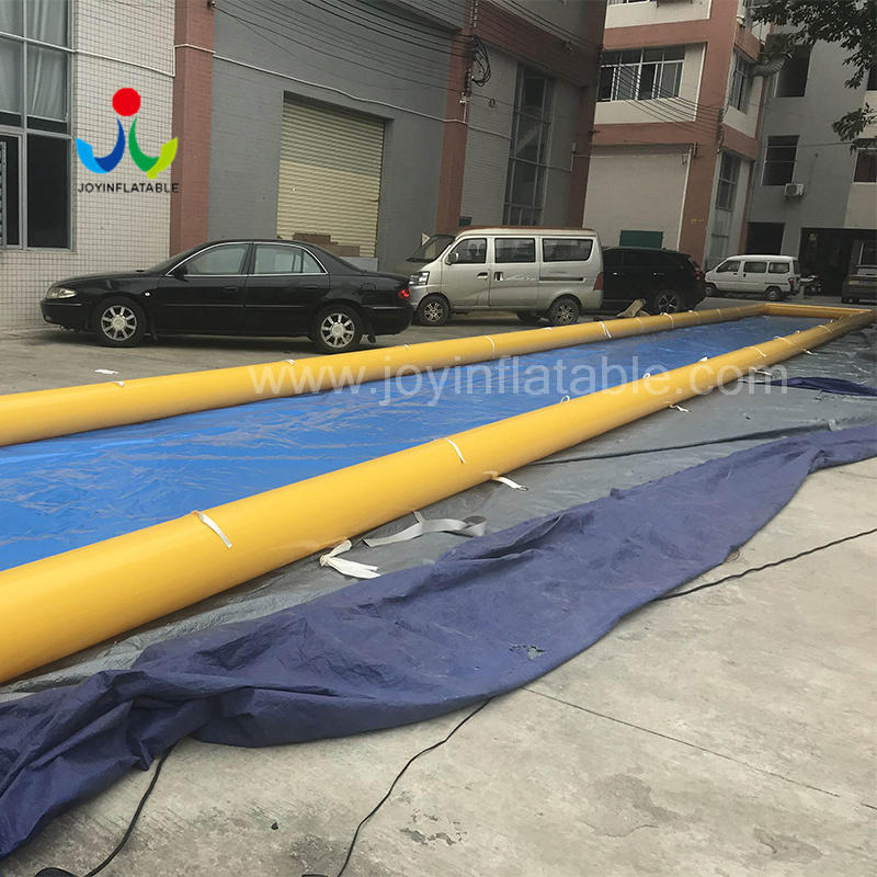 Customized Inflatable City Street Water Slide Video