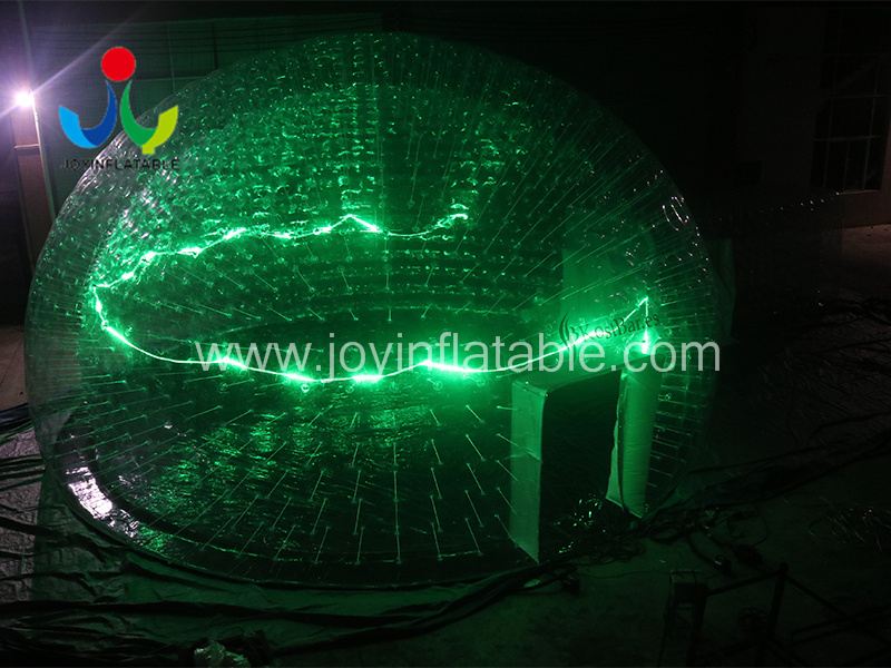 Clear PVC Inflatable LED Light Event Tent-5