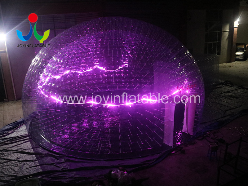 Clear PVC Inflatable LED Light Event Tent-6