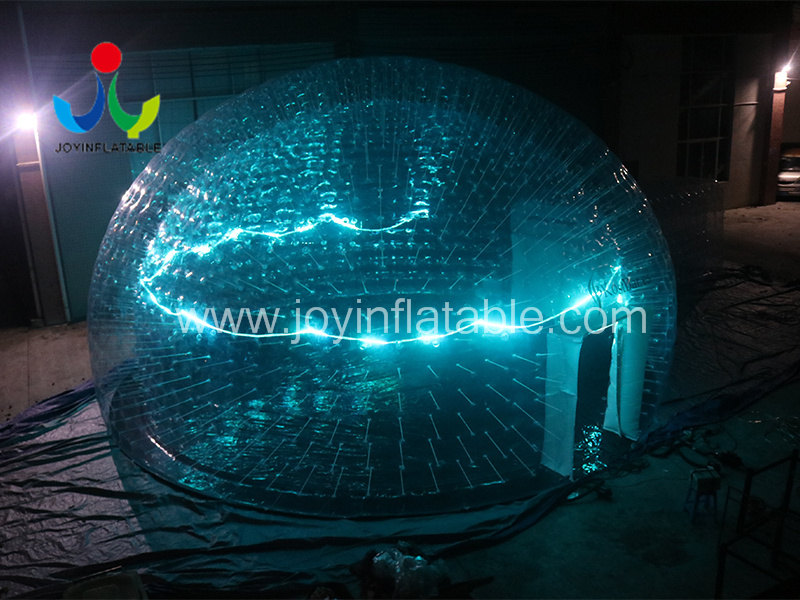 Clear PVC Inflatable LED Light Event Tent-7