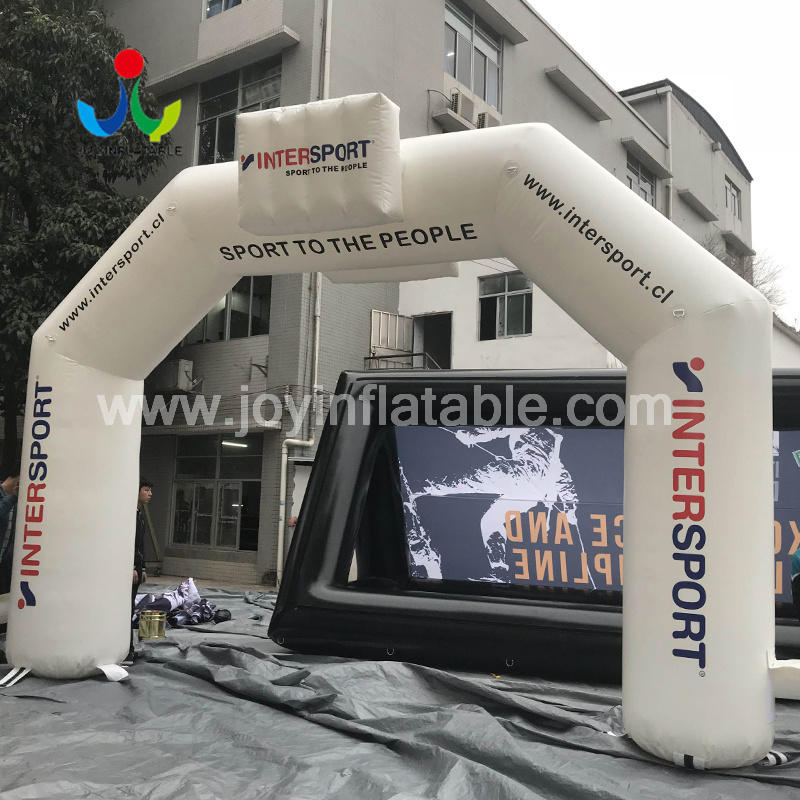 Inflatable Entrance Arch for Sport Event  Video