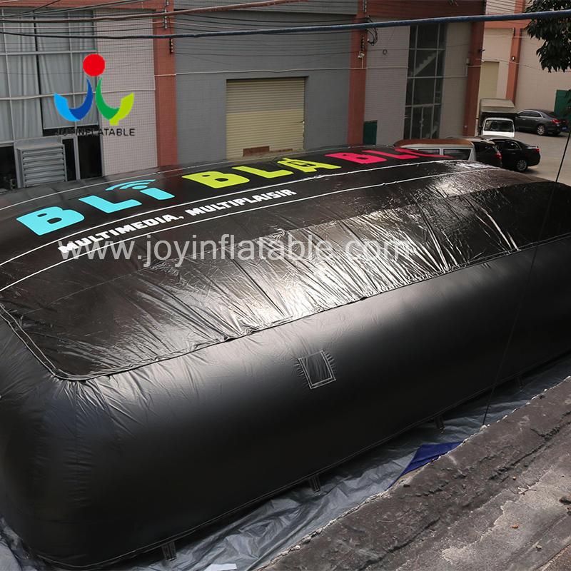 Freefall Double Airbag Jump Platform Video