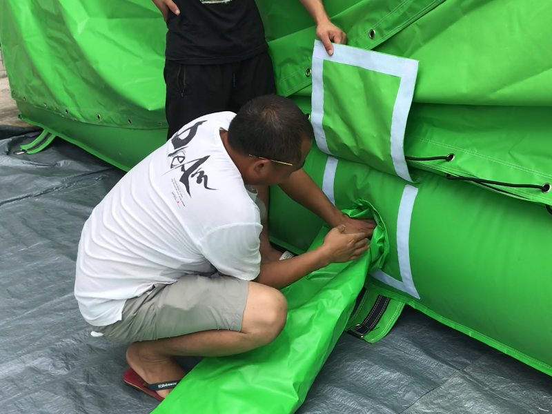 JOY inflatable airbag jump customized for outdoor-13
