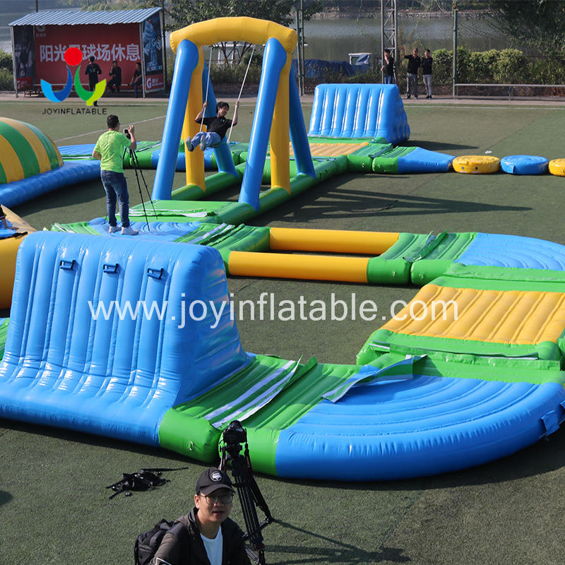 Inflatable Fun Floating Sea Water Park For Commercial Use