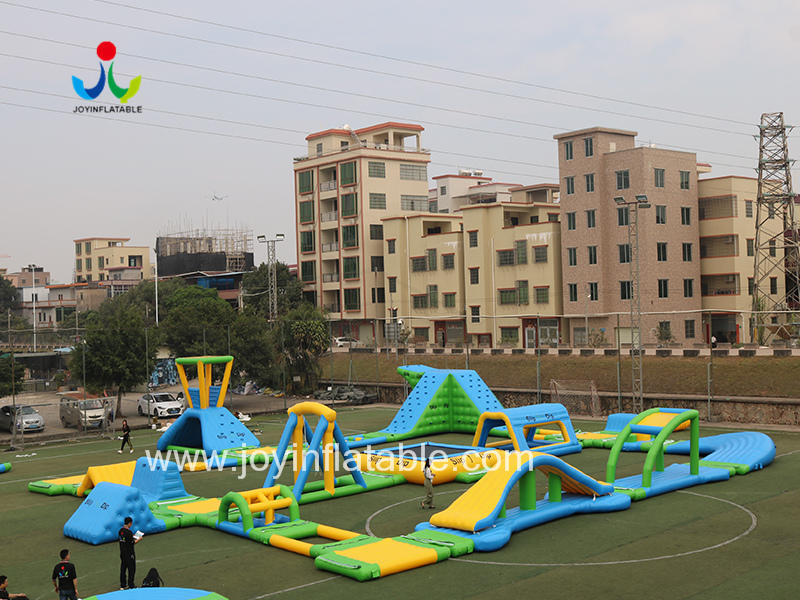 Inflatable Fun Floating Sea Water Park For Commercial Use Video