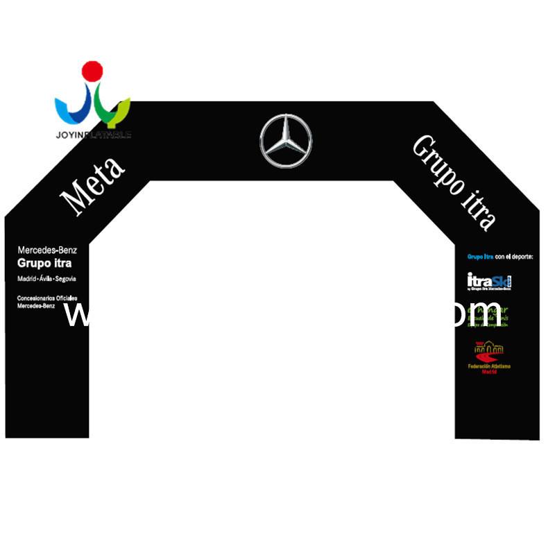 Custom Inflatable Event Rainbow Arch For Ourdoor Race