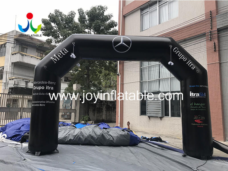 Custom Inflatable Event Rainbow Arch For Ourdoor Race Video