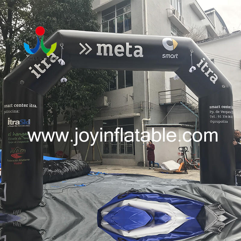 JOY inflatable inflatable arch personalized for children