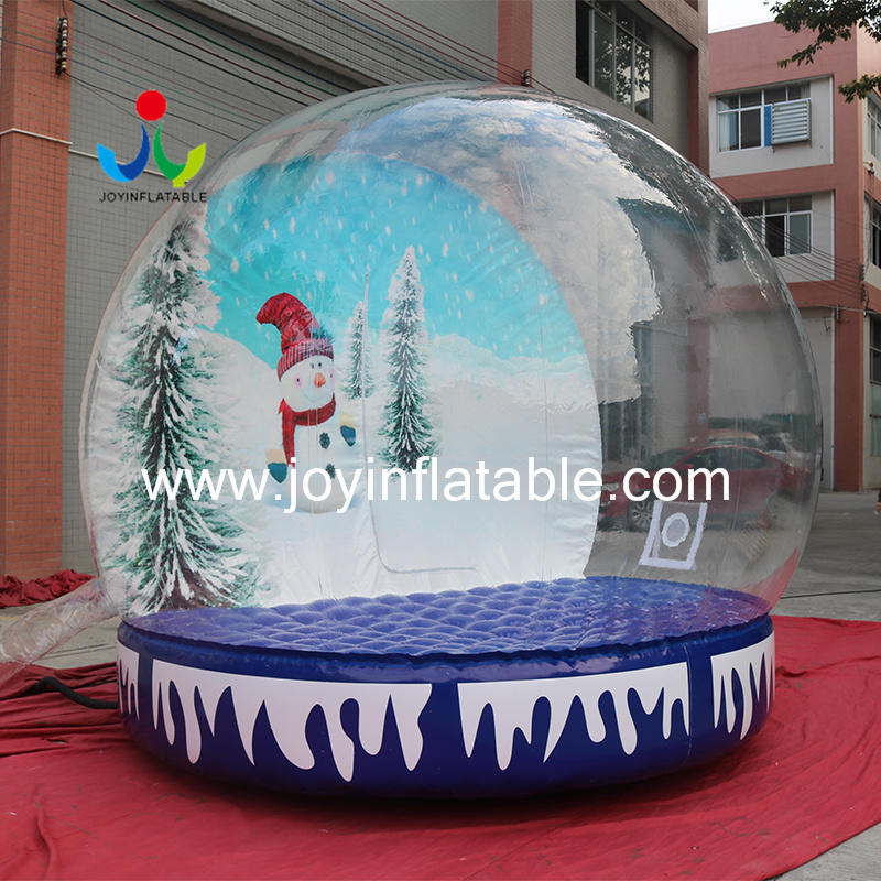 Inflatable Photo booth Christmas Snow Globe for Decoration Advertising