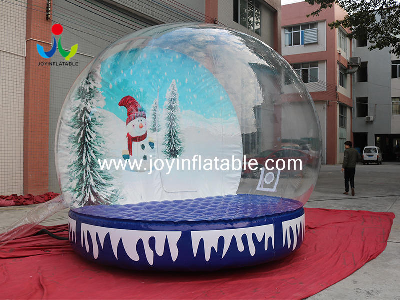 Inflatable Photo booth Christmas Snow Globe for Decoration Advertising Video