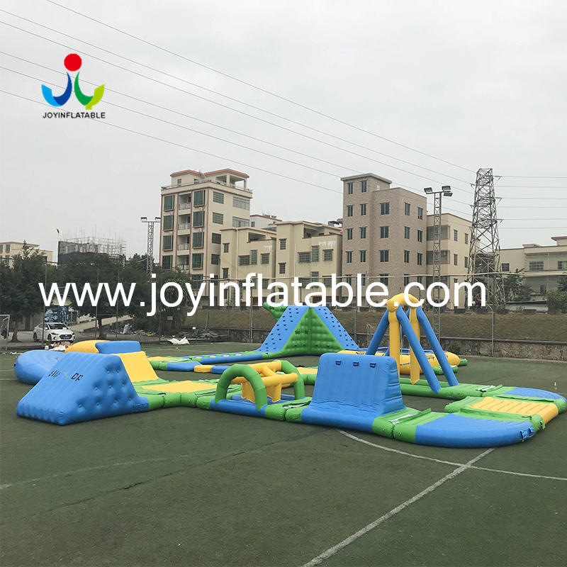 Lake Jumping Inflatable Floating Water Slides