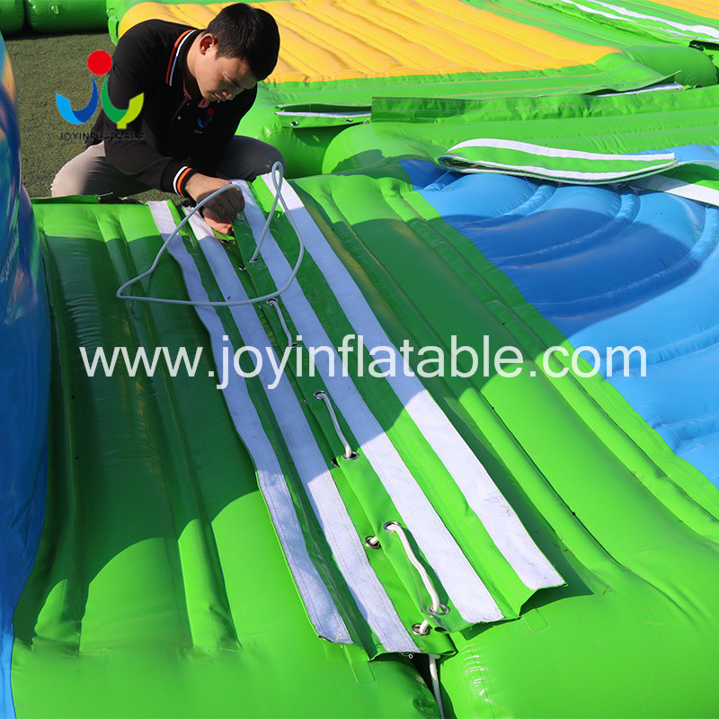 inflatable lake trampoline with good price for kids-15
