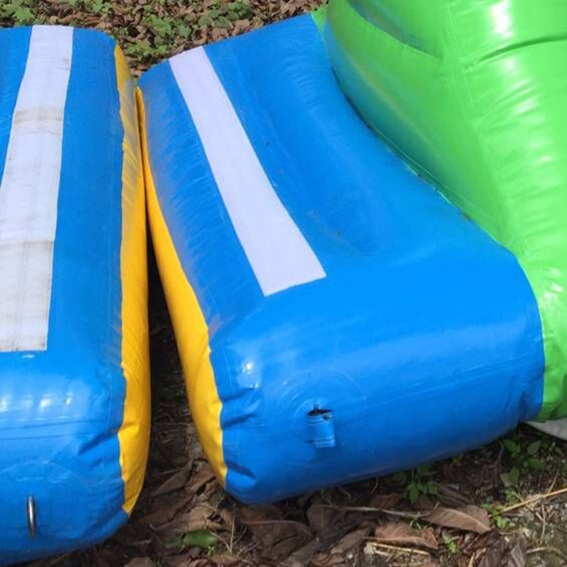 inflatable lake trampoline with good price for kids-16