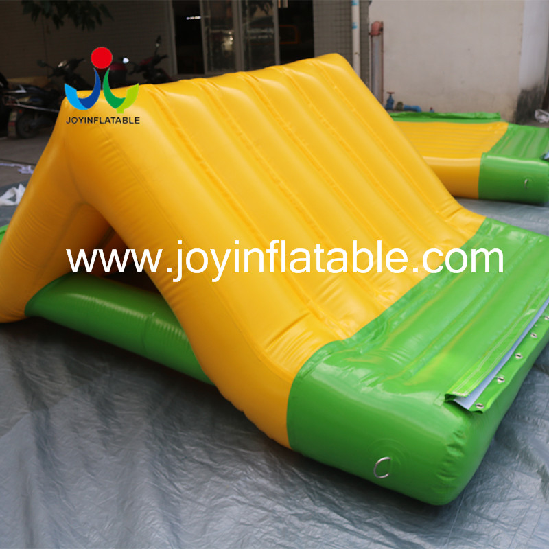 inflatable lake trampoline with good price for kids-4