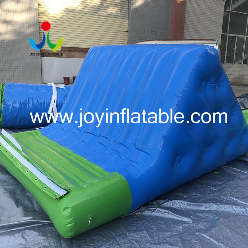 inflatable lake trampoline with good price for kids-5