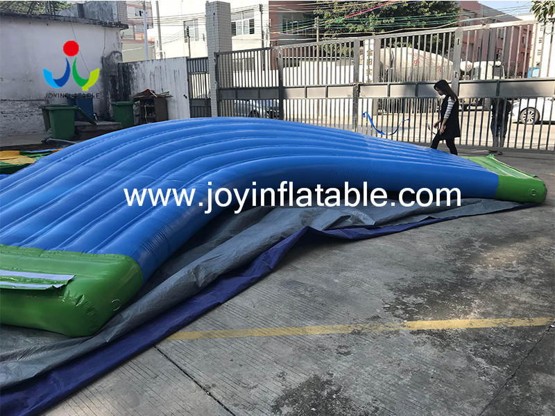 inflatable lake trampoline with good price for kids