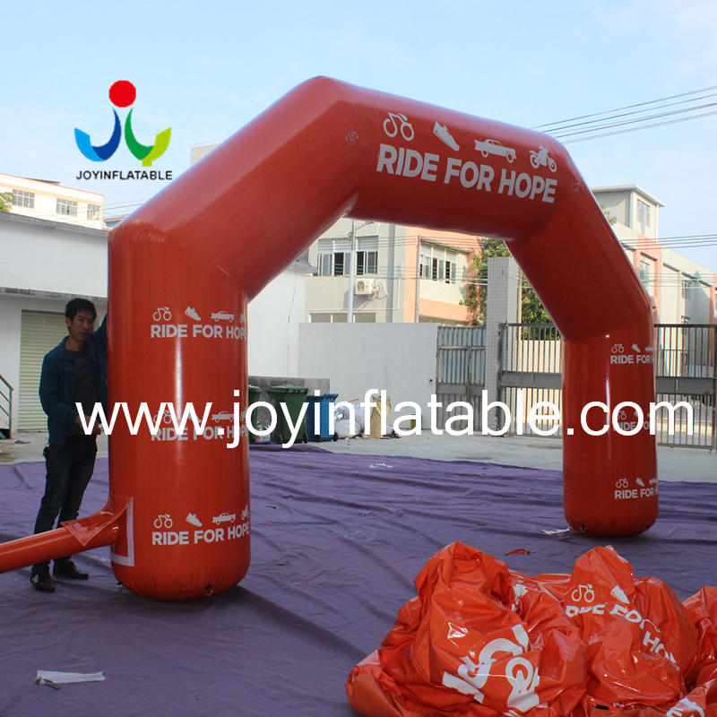 JOY inflatable inflatable finish line wholesale for children