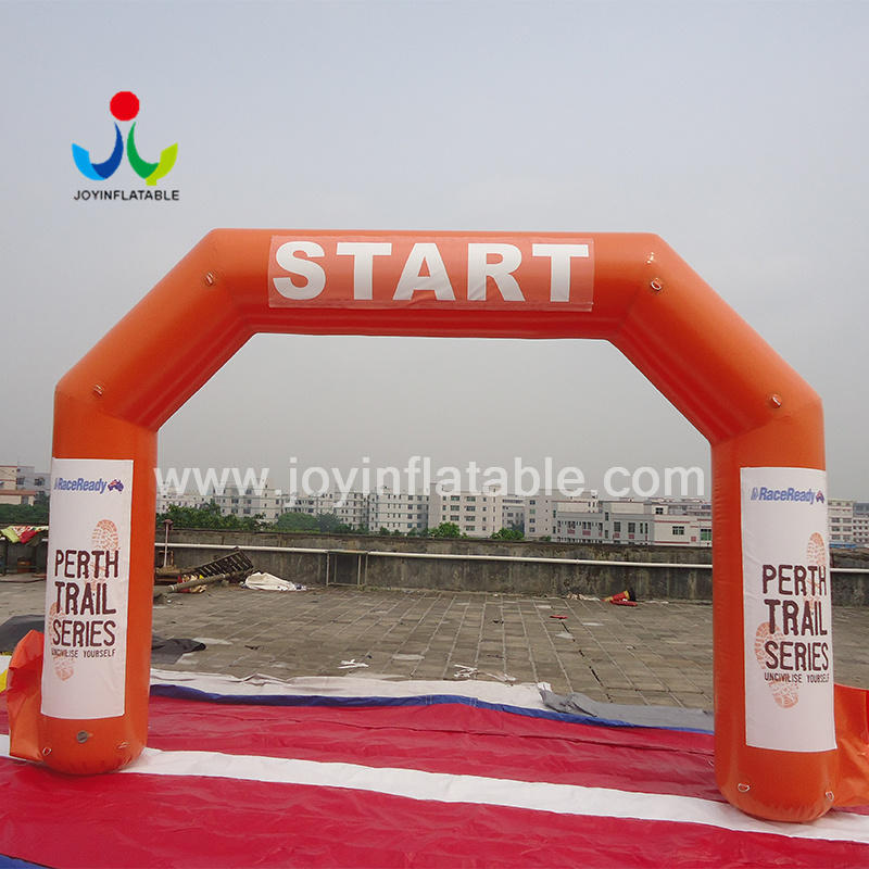 Inflatable Sports Archway Start Finish Line for Events Air Blower