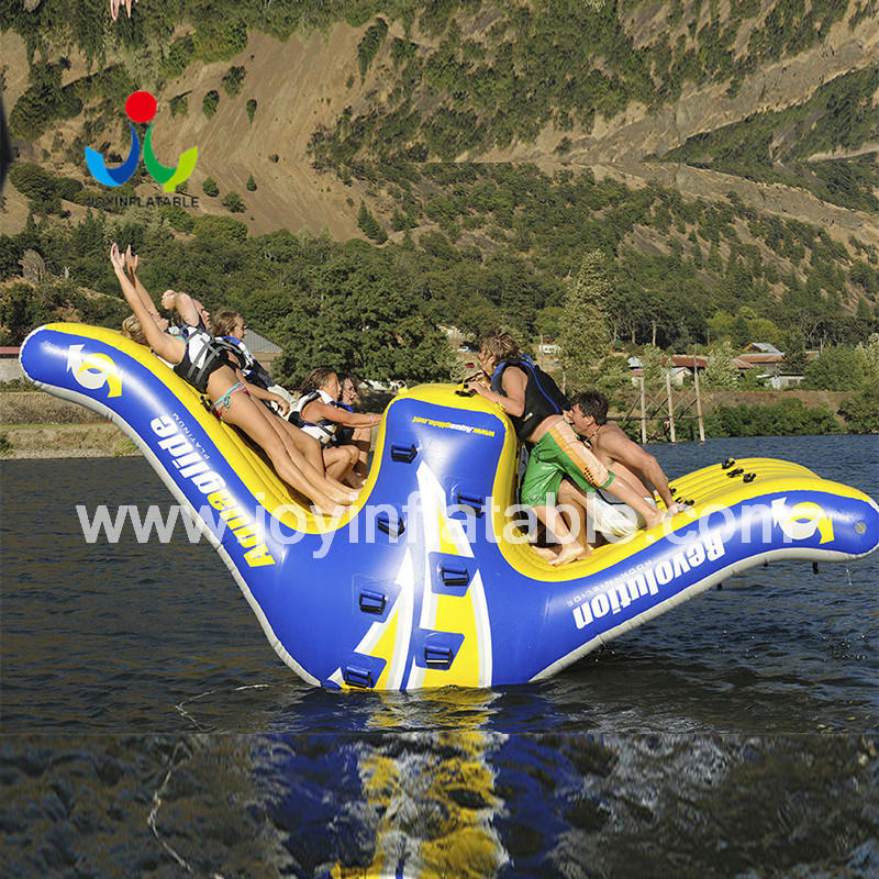 obstacle inflatable floating water park supplier for children
