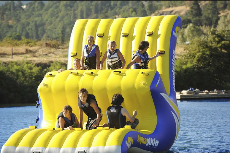 obstacle inflatable floating water park supplier for children-5