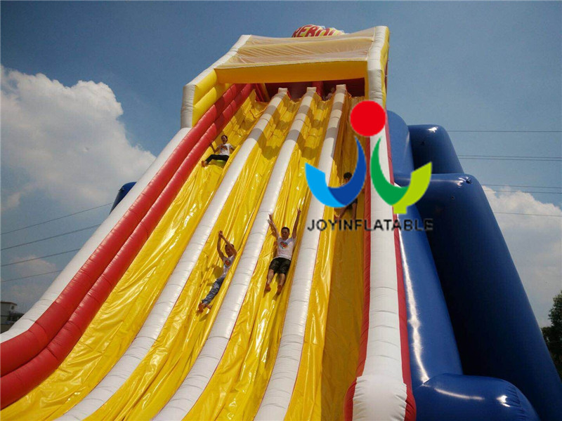 Giant  Size Outdoor Playground Inflatable Water Slides For Adults-6