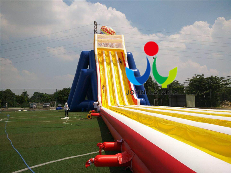 Giant  Size Outdoor Playground Inflatable Water Slides For Adults-7