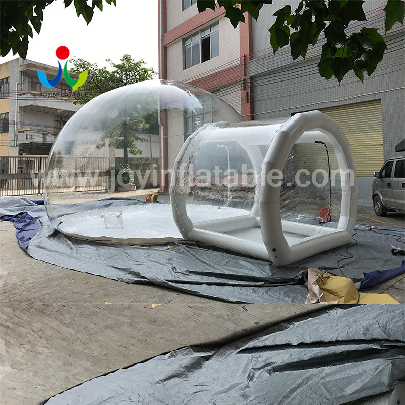 JOY inflatable slides clear inflatable bubble tent for children-12