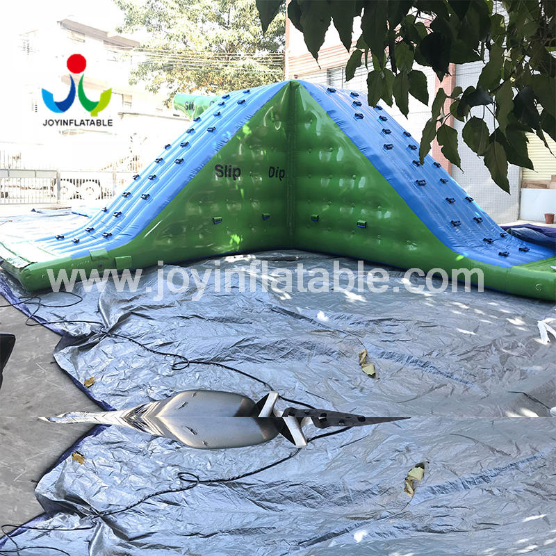 Large Inflatable Sea Park Water Slides For the Lake