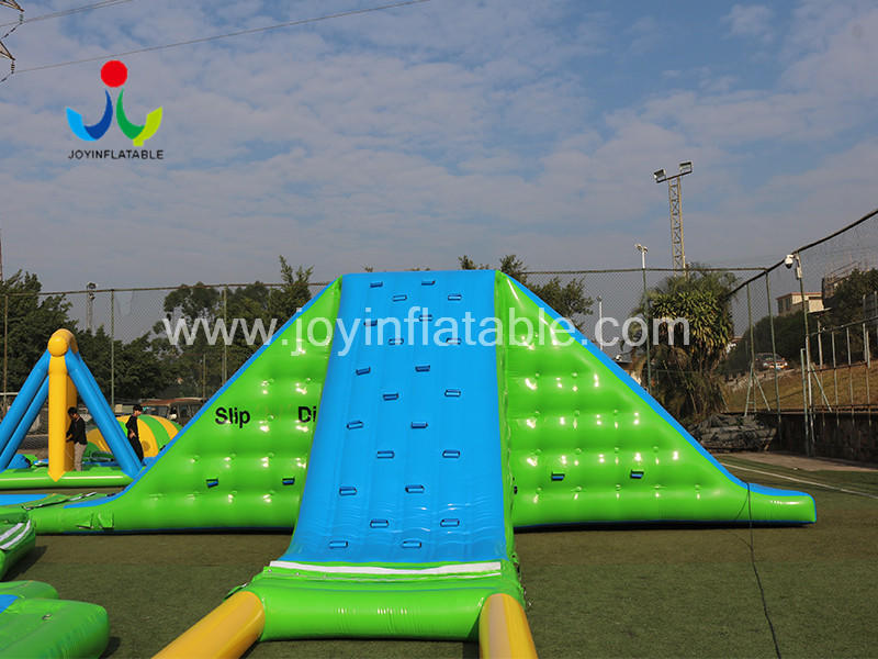 Large Inflatable Sea Park Water Slides For the Lake Video